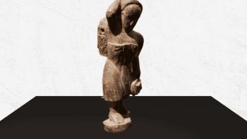 Statue porteuse d'eau...