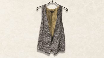 GILET SEQUENCE GRIS