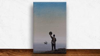 """Peinture """"Bye-bye"""" de Yann..."""