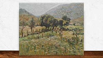 """Peinture """"Rayon de soleil..."""