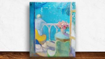 """Peinture """"Le fauteuil..."""