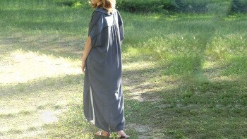 ROBE ORY GRISE