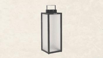 Lanterne Solaire en aluminium - Hauteur 65cm