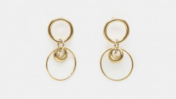 Boucles anneaux Romane