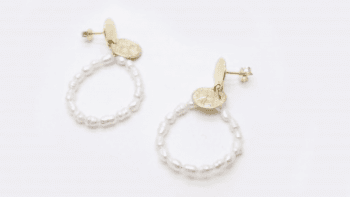 Boucles perles Kate