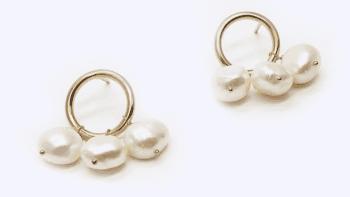 Puces Ali Trio de perles