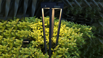 Torche Solaire en aluminium - Hauteur 52cm