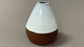 Bouteille poire céramique