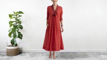 Robe bohème Rouge