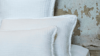 Dessus de lit Ibiza en gaze de coton 240x260cm