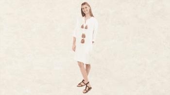 Robe Maya Blanche
