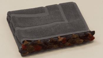 Tapis de bain gris foncé Soulaybis Yamskaïa
