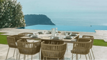 Table carré Cliff By Talenti