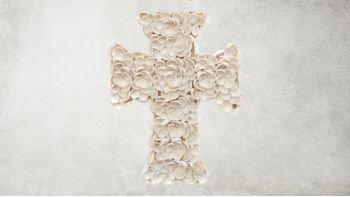 La Croix Coquillage - Blanche - S