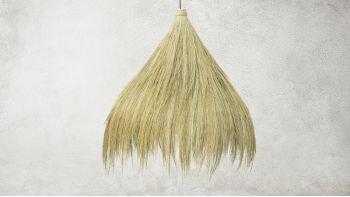 La lampe à pendentif Rayung Hut - Naturel