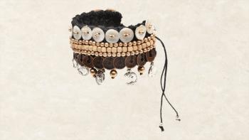 Le Bracelet Macramé - Or