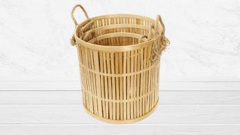 Les Paniers Bambou - Set 3