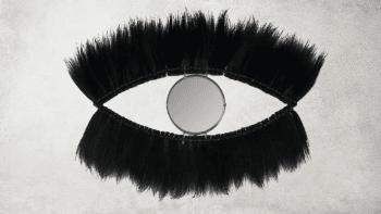 Miroir aux Yeux Noirs