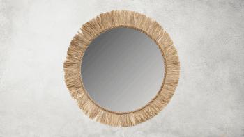 Miroir Tahiti - Naturel