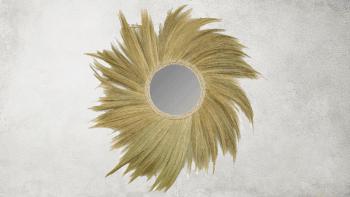 Miroir Simba - Naturel - L