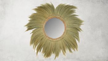 Miroir Mufasa - Naturel - XL