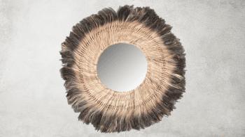 Miroir Kaa - Naturel - L