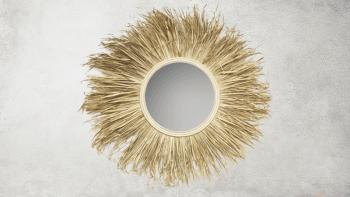 Miroir d'Herbe Naturelle - L