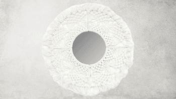 Miroir Barbados - Blanc - M