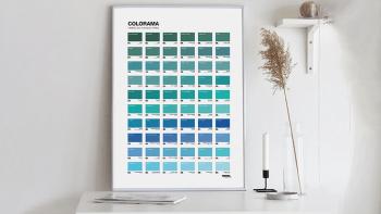Affiche d'art Colorama des...