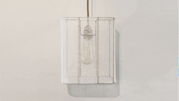 Lampe rectangle Indochine...