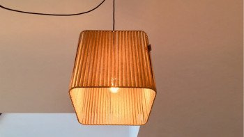 Lampe grand carrée Straight...