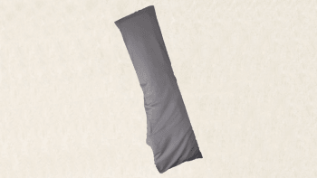 Housse ajustée grise Vumbra