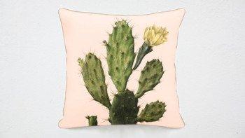 Housse de coussin Cactus -...