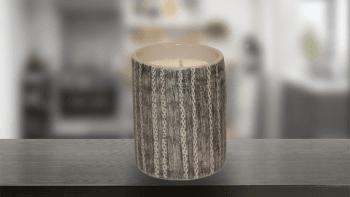 Petite bougie en céramique...