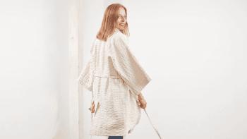 Kimono court NIAGA blanc