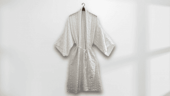 Kimono long NIAGA blanc...