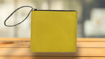 Pochette Plate jaune