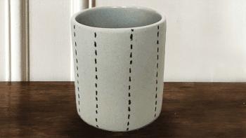 MUG en céramique blanche, à...