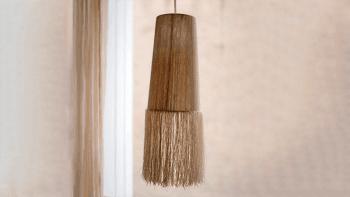 Suspension longue lin