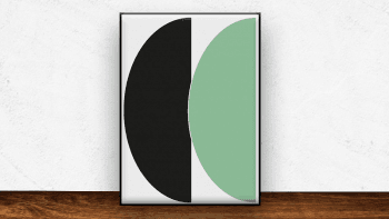 Affiche Half Circles III