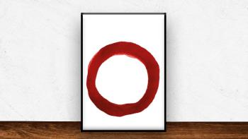 Affiche Ensö Red IV