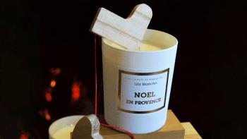 Bougie Noël en Provence