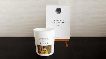 Bougie des peintres Klimt