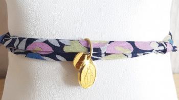 Bracelet liberty rose/vert