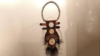 Pièce unique collier Papou...